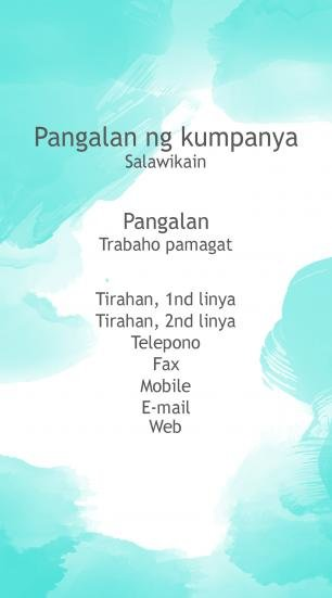#388942 business card template kulay ng mga kumbinasyon