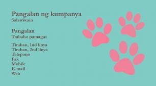 #598819 business card template kulay ng mga kumbinasyon