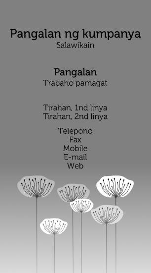 #624455 business card template agrikultura, pangangaso at pangingisda