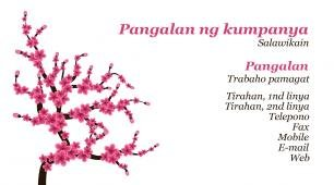 #640222 business card template kalikasan at hayop na proteksyon