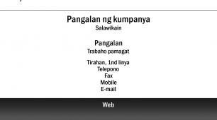 #728874 business card template transportasyon, gumagalaw